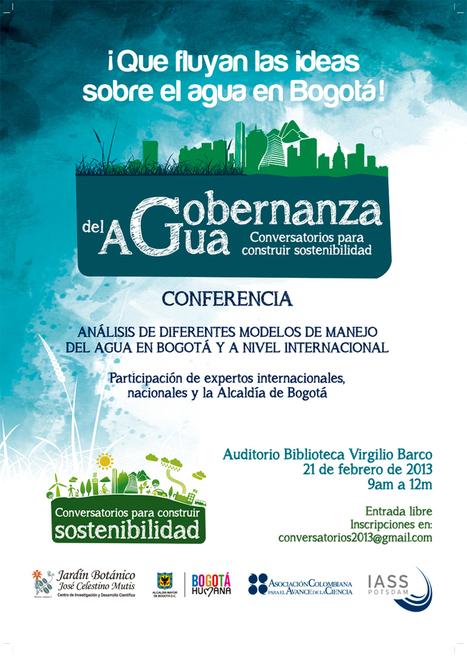Gobernanza del Agua - Conversatorios para construir sostenibilidad | Rpo... | Scoop.it