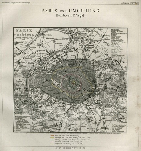 Historique des plans de Paris | La boite verte | Slovenian Genealogy Research | Scoop.it
