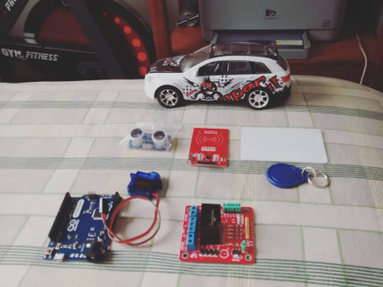 Insta-Arduino | Next #Project, #Arduino � #RFID #ServoMotor... | Raspberry Pi | Scoop.it