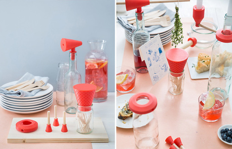 Tourdefork rethinks tableware with 3D printed dinner gadgets | Digital Design and Manufacturing | Scoop.it