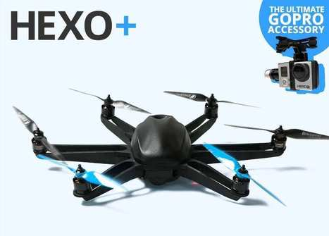 Hexo+, le drone de compagnie français pour aller se balader | World tourism | Scoop.it