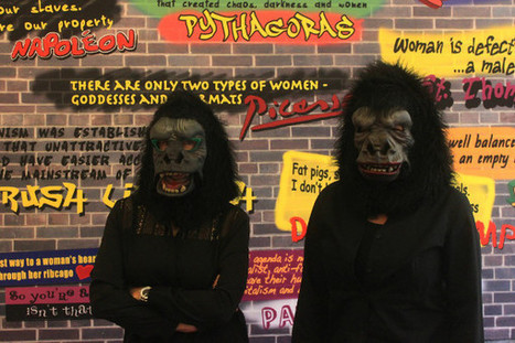 Rencontre avec les Guerrilla Girls : « Nous sommes intellectuellement agressives » - Les Nouvelles NEWS | Gender and art | Scoop.it