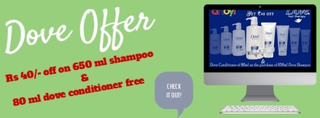 Dove Shampoo Offer   food   Scoop.it
