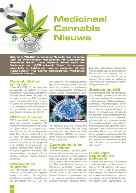 HighLife - St. PGMCG.pdf | Medicinale-cannabis | Scoop.it