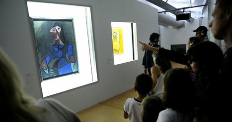 Bain de couleurs au centre Pompidou mobile, à Boulogne-sur-Mer | Tourisme Boulogne-sur-Mer | Scoop.it