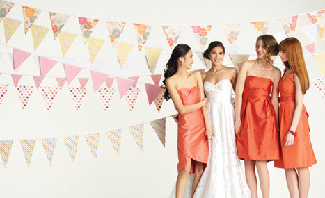 22 Unique Ways To Work Buntings Into Your Wedding | Weddingbells.ca | Weddings & Wedding Planning | Scoop.it