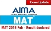 MAT 2016 Feb: Result declared; Good MBA options available in all percentile range | All About MBA | Scoop.it