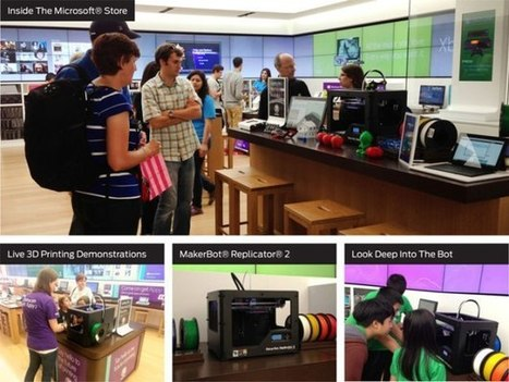 Microsoft stores to sell MakerBot 3D-printers   great britain   Scoop.it