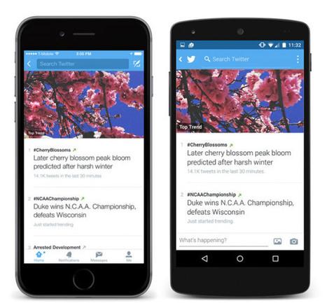 Twitter: addio a Scopri, i trending adesso sono più dettagliati | InTime - Social Media Magazine | Scoop.it