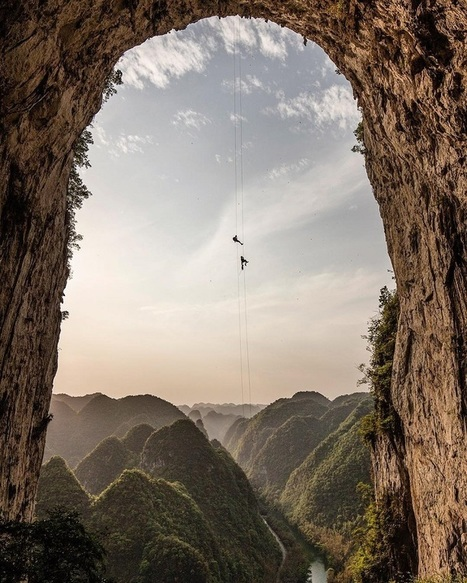 Dedicated Adventurer Photographs the World From Extreme Vantage Points | Le It e Amo ✪ | Scoop.it