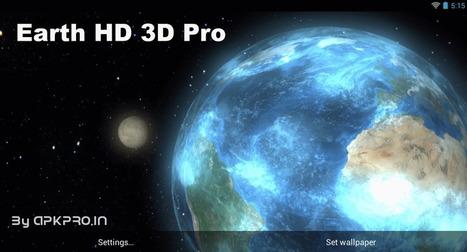 Earth HD 3D Pro v1.0 (Build2) - APK Pro World | APK Pro Apps | Scoop.it