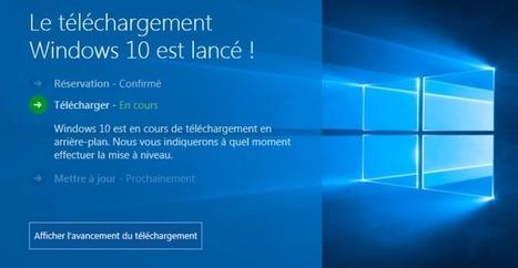 Ma 1ère expérience Windows 10 fut courte et douloureuse !   Geek or not ?   Scoop.it