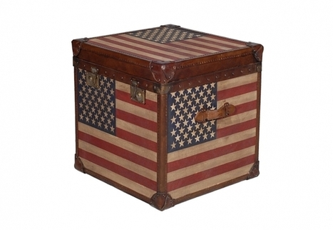 White Star Trunk - Stars & Stripes   Timothy Oulton   3D Product Design   Scoop.it