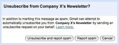 Unsubscribing made easy on Gmail | DigitalGap | Scoop.it