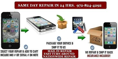 Mail in repair iphone ipad ipad samsung galaxy and more by wireless hospital dallas texas | Phone Repairing | Scoop.it