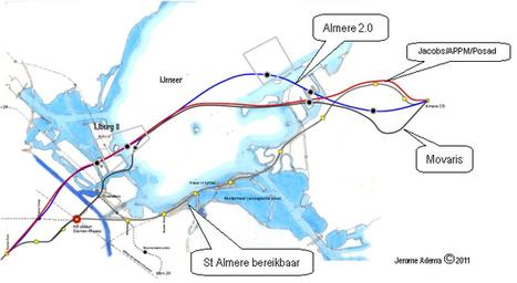 Rijk en regio maken afspraken over toekomst Amsterdam-Almere-Markermeer | Almere Smart City | Scoop.it