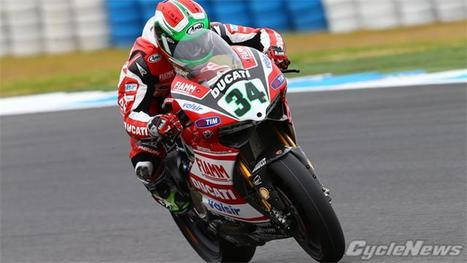 Ducati On Top As SBK Testing Gets Started At Jerez | Ductalk Ducati News | Scoop.it
