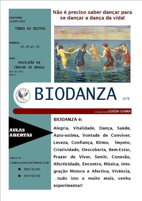Braga: Aulas de Biodanza Todas as Sextas-Feiras, Pavilhão da Creche, Rua do Raio, 19:30-21:30h | BIO DANZA | Scoop.it