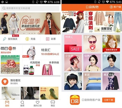 Chinese mobile shopping app secures $350M led by Tencent, could pose biggest threat to Alibaba yet | Digital & Mobile Landscape Asia Pac | Scoop.it