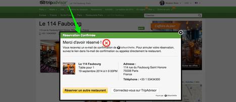 Et voila! TripAdvisor serves up Instant Reservation for restaurants - Tnooz | Animation Numérique de Territoire | Scoop.it