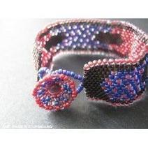 Beading Tutorials: Flat Peyote Stitch | Beadwork | Scoop.it