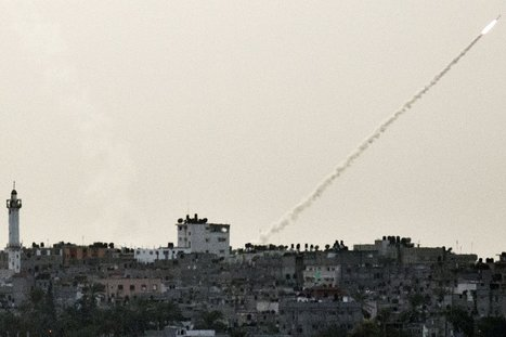 Israel and Gaza Battle Twitter War Over Rocket Attacks | Internet and Warfare | Scoop.it