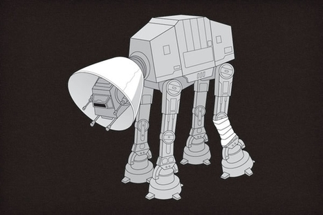 At-At Walker wears cone of humiliation | Eeh by Gum | Scoop.it