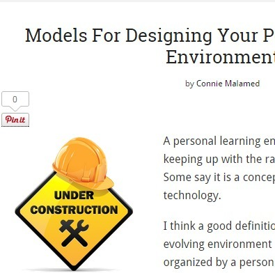 Models For Designing Your Personal Learning Environment | Professional Learning Design | Scoop.it