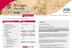 La moitié des répertoires des notaires de l'Ain consultables en ligne | Rhit Genealogie | Scoop.it