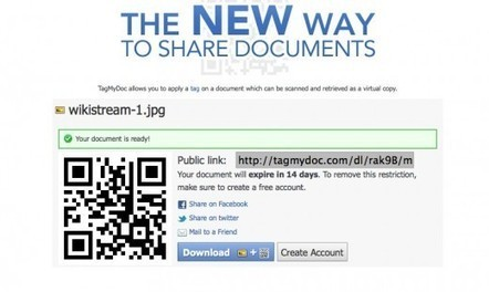 Instantly add a QR code to any document using TagMyDoc   Using QR Codes in Libraries   Scoop.it