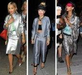 RIHANNA V. RITA ORA: WHO IS THE BEST IN Metallic Trend? - | FASHIONS & DESIGNERS eDIGEST | Scoop.it