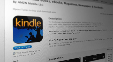 Amazon warns iOS Kindle app users to avoid latest update | Life @ Work | Scoop.it