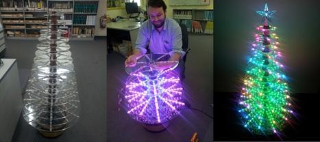LEDmas Tree | arduino | Scoop.it