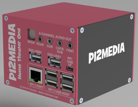 Crowdfunded Projects Use Raspberry Pi and ODROID Boards into Home Theater PCs and Retro Game Consoles   Embedded Systems News   Scoop.it