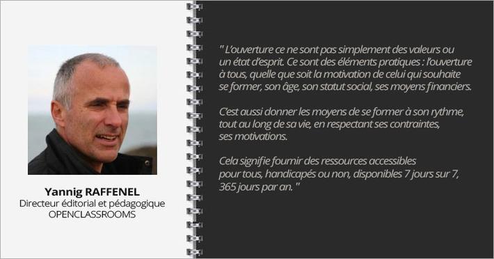 Interview Yannig Raffenel, OpenClassrooms | MOOC Francophone | Scoop.it