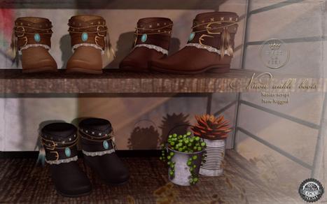::C'est la vie!:: Ninon ankle boots for MIX October   ::C'est la vie!::   Style of LIFE   Scoop.it