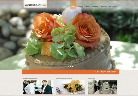 web design for caterer | Web design | Scoop.it