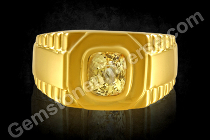 Yellow Sapphire Ring | Astrology Rings Yellow Sapphire Benefits | Gem therapy | Scoop.it
