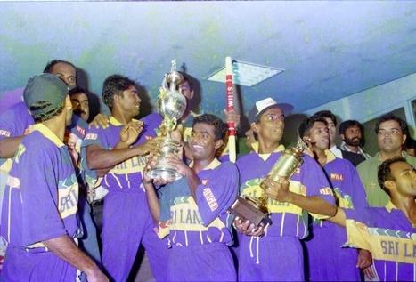(Photos) 1996 Cricket World Cup champions celebrating their victory | Sri Lanka | Cricket | Sri Lanka Cricket | Scoop.it
