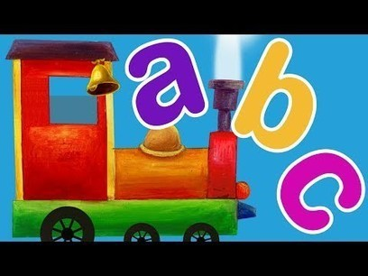 Train ABC Song l ABC Songs for Children | internet marketing | Scoop.it