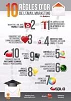 Infographie : 10 règles d'or pour une campagne d'e-mail marketing réussie | astuces web et communication par arret net .fr | Scoop.it