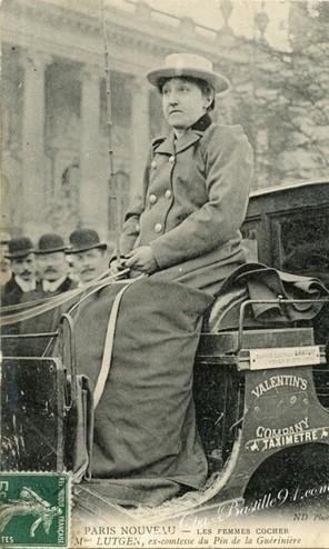 Les Femmes Cocher – ex-Contesse du Pin de la Guériniere | Cartes Postales Anciennes | L'écho d'antan | Scoop.it