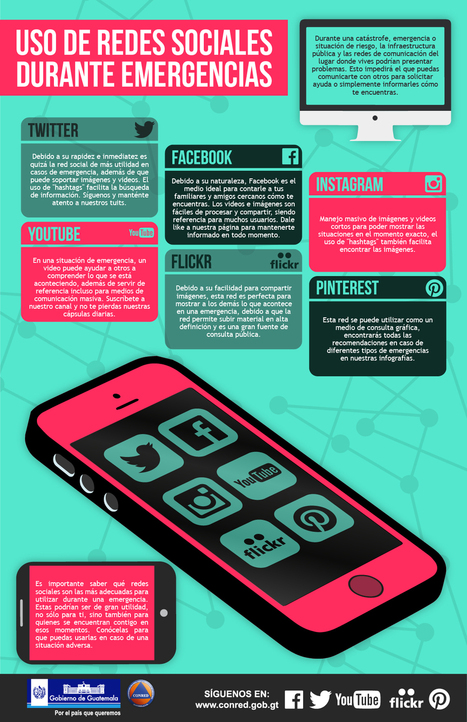 Uso de Redes Sociales durante emergencias | Educacion, ecologia y TIC | Scoop.it