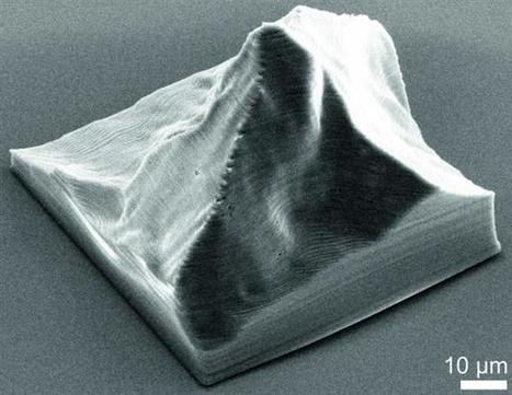 World's smallest 3D printed Matterhorn reveals practical uses of nanoscale 3D printing | 3D Printing and Fabbing | Scoop.it