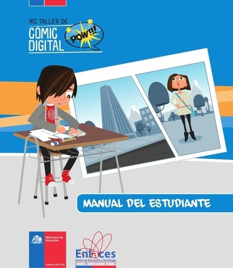 "Mi taller de comic digital: manual del tutor y estudiante | ""Con-vivir"" 