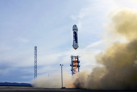 Jeff Bezos' Blue Origin lands a rocket back down on earth | Good news from the Stars | Scoop.it