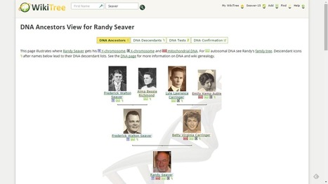 WikiTree Provides More DNA Information About Relatives | Genealogy | Scoop.it