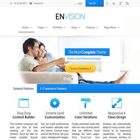 Envision WordPress Theme | WordPress Theme Download | Best WordPress Themes 2013 | Scoop.it