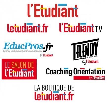 Nouveau logo : l'Etudiant fait sa rentrée avec une nouvelle identité visuelle - Letudiant.fr | Visual Strategy | Scoop.it