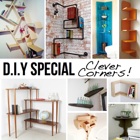 Clever Corner DIY Solutions   No Place Like Home   Scoop.it